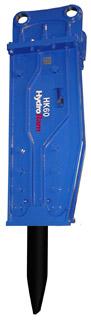 HydroRam HK60 Hydraulic Hammer Top Type