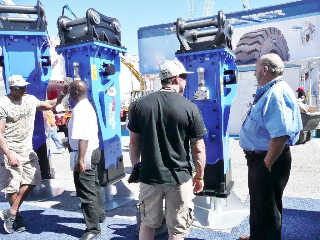 RJB Hydraulic Hammers at ConExpo 2014