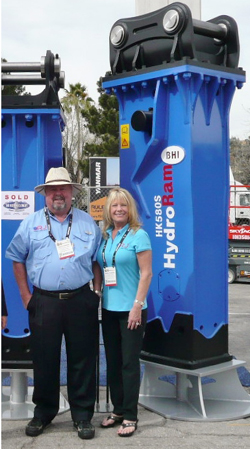 Ron & Sheri at ConExpo