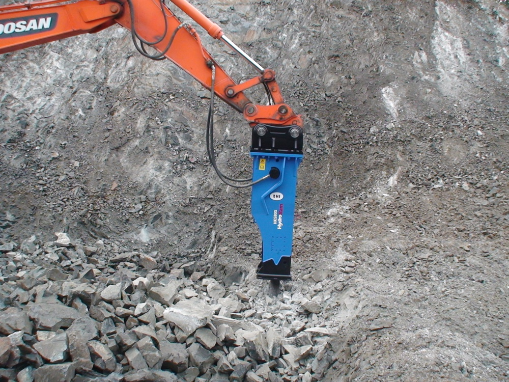 Optimal Operating Tips Hydraulic Hammer