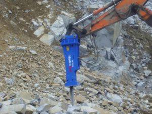 HydroRam HK380S Hydraulic Hammer Operation