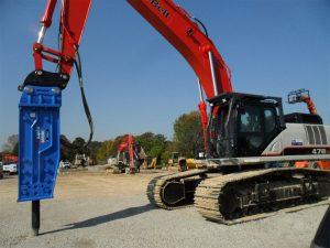 The Hydraulic Hammer: How it Works | RJB Hydraulic Hammers