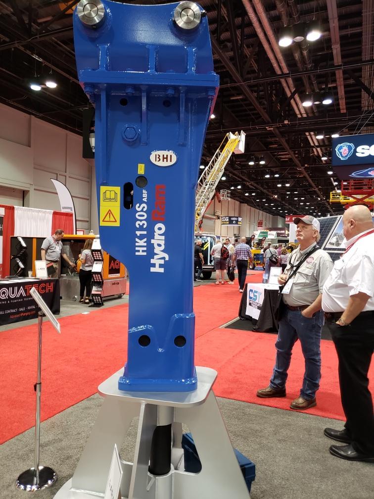 HydroRam HK130S Hydraulic Hammer at ARA 2020