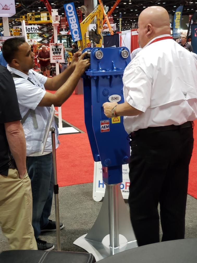 HydroRam HK30 Hydraulic Hammer at ARA 2020