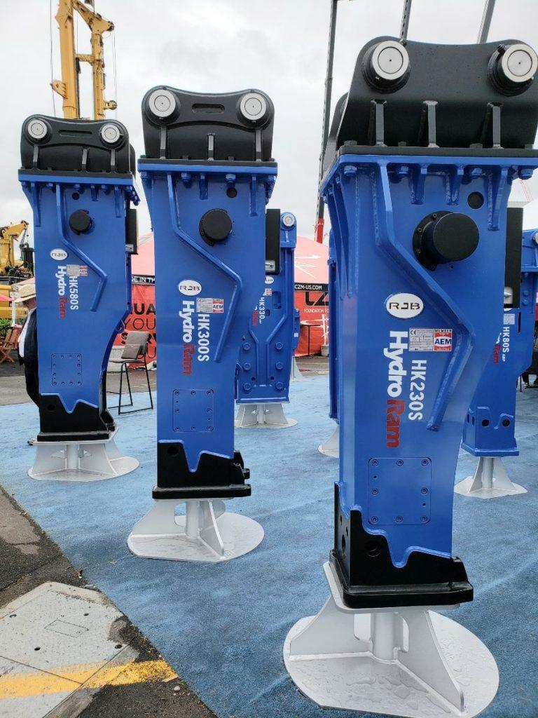 HydroRam Premium Class Series Hydraulic Hammers