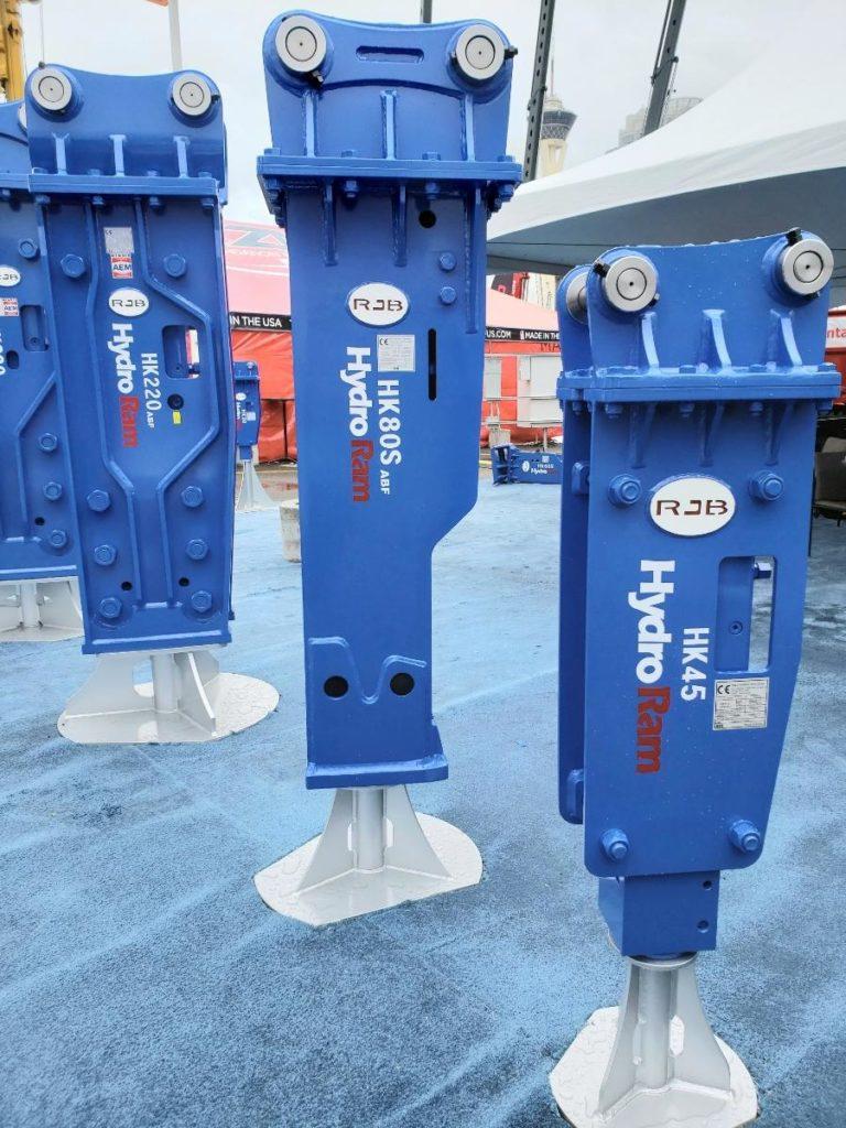 HydroRam Hydraulic Hammers at ConExpo 2020