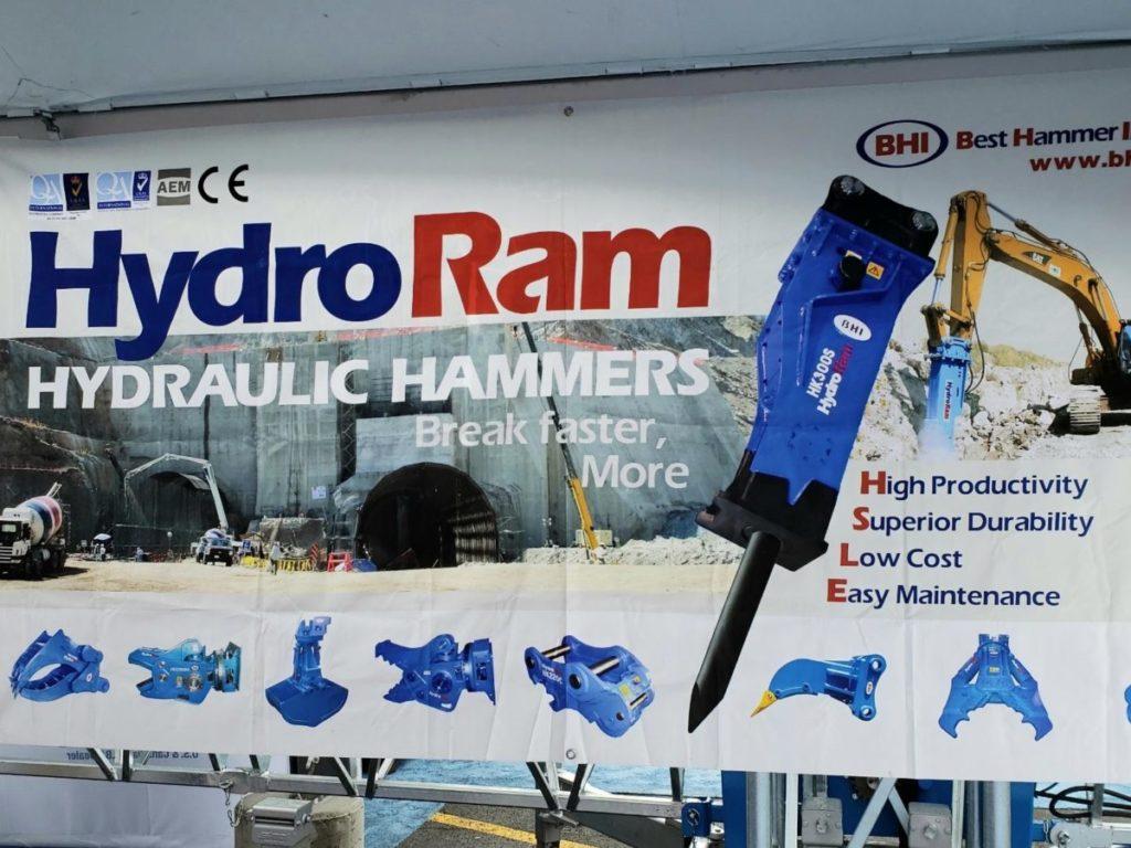 HydroRam Hydraulic Hammers
