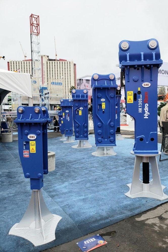 Hydraulic Hammer Display