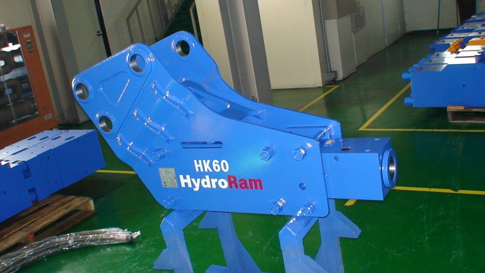 HydroRam HK60 Hydraulic Hammer for Loader Backhoe