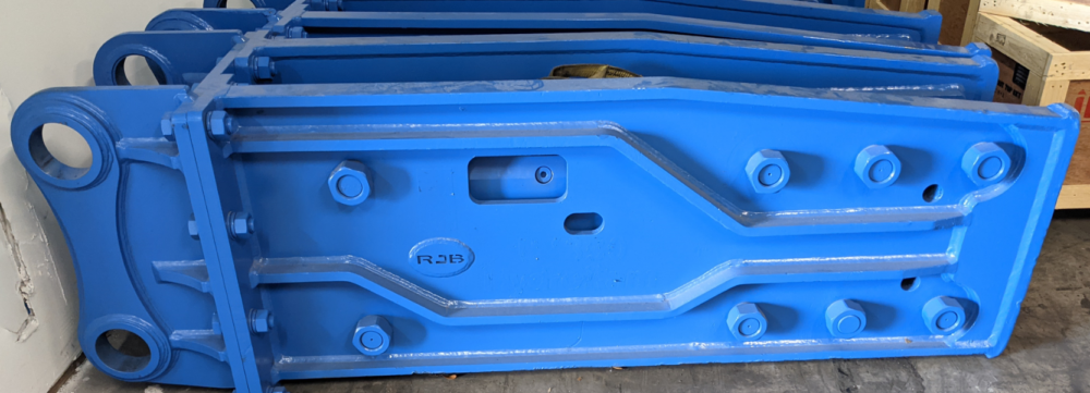 rebuilt HK22 HydroRam Hydraulic Hammer